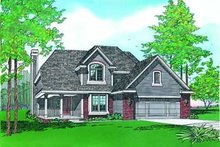 Dream House Plan - Traditional Exterior - Other Elevation Plan #20-536
