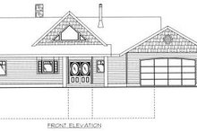 Dream House Plan - Cabin Exterior - Other Elevation Plan #117-512