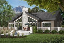 Dream House Plan - Contemporary Exterior - Front Elevation Plan #23-2263