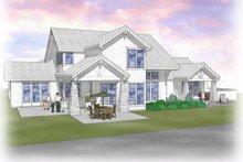 Craftsman Exterior - Rear Elevation Plan #48-463