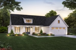 House Design - Farmhouse Exterior - Front Elevation Plan #1074-45