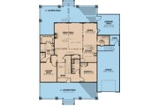 Craftsman Style House Plan - 4 Beds 3 Baths 2663 Sq/Ft Plan #923-113 Floor Plan - Main Floor Plan