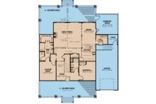 Craftsman Floor Plan - Main Floor Plan Plan #923-113