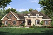 House Plan Design - European Exterior - Front Elevation Plan #430-118