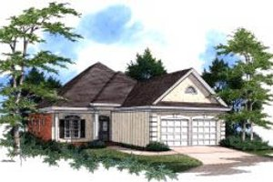 Traditional Exterior - Front Elevation Plan #37-175