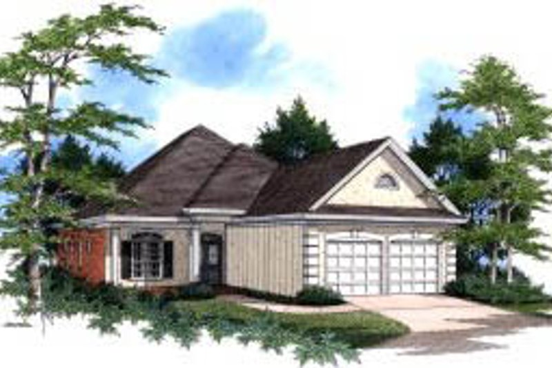 Home Plan - Traditional Exterior - Front Elevation Plan #37-175