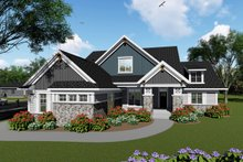 Home Plan - Ranch Exterior - Front Elevation Plan #70-1425