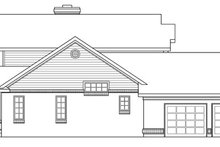 Farmhouse Exterior - Other Elevation Plan #124-189