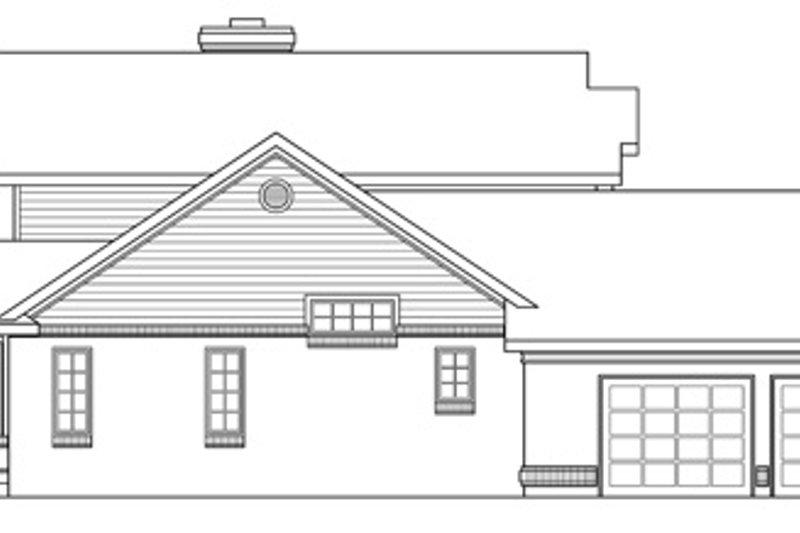 Farmhouse Exterior - Other Elevation Plan #124-189 - Houseplans.com