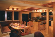 Contemporary Interior - Dining Room Plan #454-3