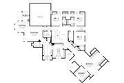 European Style House Plan - 5 Beds 5.5 Baths 6020 Sq/Ft Plan #48-365 Floor Plan - Upper Floor