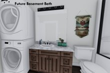 Home Plan - Future Finished Basement Bath II