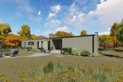 Modern Style House Plan - 3 Beds 2 Baths 1418 Sq/Ft Plan #549-22