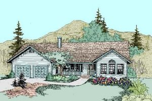 Traditional Exterior - Front Elevation Plan #60-274