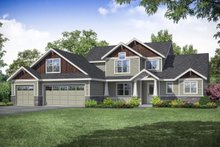 House Plan Design - Craftsman Exterior - Front Elevation Plan #124-1109