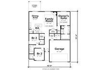 Traditional Floor Plan - Other Floor Plan Plan #20-2350
