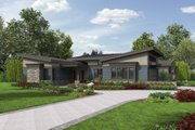 Modern Style House Plan - 3 Beds 2.5 Baths 2749 Sq/Ft Plan #48-497