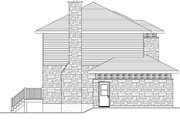 Modern Style House Plan - 3 Beds 1.5 Baths 2072 Sq/Ft Plan #138-356 Exterior - Other Elevation