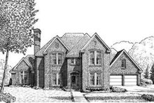 House Design - European Exterior - Front Elevation Plan #410-409