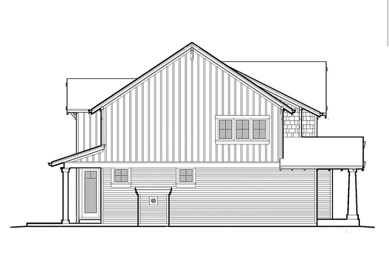 Craftsman Exterior - Other Elevation Plan #48-906 - Houseplans.com