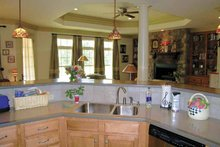 House Plan Design - Ranch Interior - Kitchen Plan #314-202