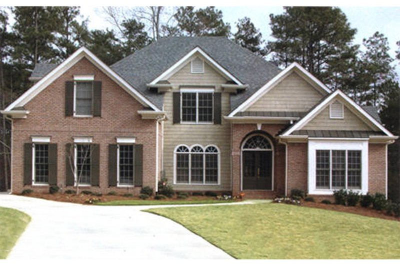 Colonial Exterior - Front Elevation Plan #927-492 - Houseplans.com