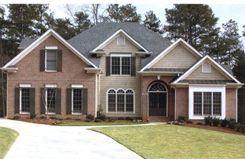 Colonial Exterior - Front Elevation Plan #927-492 - Houseplans.com