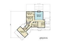 Contemporary Floor Plan - Upper Floor Plan Plan #1070-81