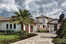 House Plan Design - Mediterranean Exterior - Front Elevation Plan #930-444
