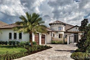 House Design - Mediterranean Exterior - Front Elevation Plan #930-444