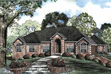 Home Plan - Traditional Exterior - Front Elevation Plan #17-2939