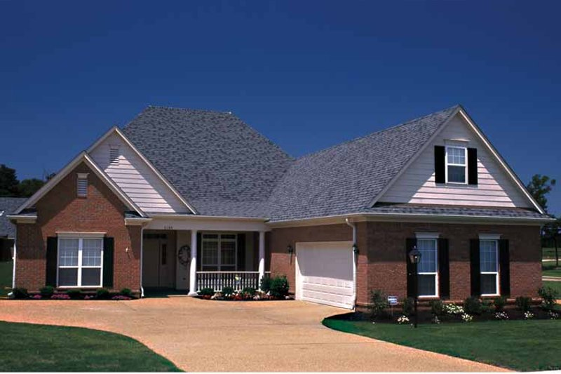 Country Exterior - Front Elevation Plan #17-3086 - Houseplans.com