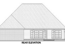 Dream House Plan - Traditional Exterior - Rear Elevation Plan #21-306