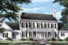 Home Plan - Classical Exterior - Front Elevation Plan #137-312