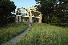 House Plan Design - Craftsman Exterior - Rear Elevation Plan #928-175