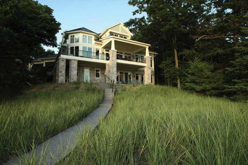Craftsman Exterior - Rear Elevation Plan #928-175 - Houseplans.com