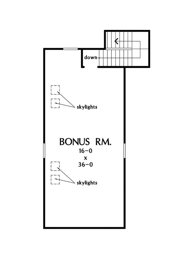Country Floor Plan - Other Floor Plan Plan #929-955