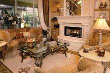 Mediterranean Interior - Family Room Plan #1017-2