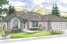 Dream House Plan - Traditional Exterior - Front Elevation Plan #124-569