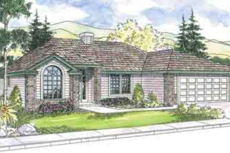 Traditional Exterior - Front Elevation Plan #124-569