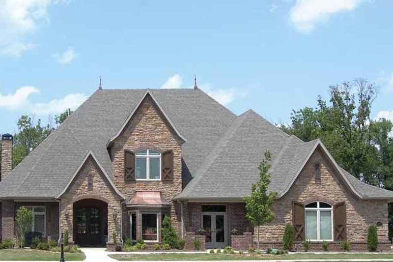 Architectural House Design - Contemporary Exterior - Front Elevation Plan #11-280