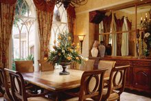Mediterranean Interior - Dining Room Plan #930-98