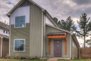 Contemporary Style House Plan - 3 Beds 2 Baths 1843 Sq/Ft Plan #932-7