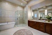 Mediterranean Style House Plan - 3 Beds 3 Baths 2779 Sq/Ft Plan #930-480 Interior - Master Bathroom