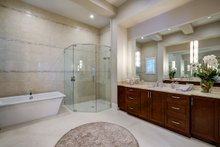 Mediterranean Interior - Master Bathroom Plan #930-480