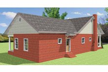 House Plan Design - Country Exterior - Other Elevation Plan #44-220