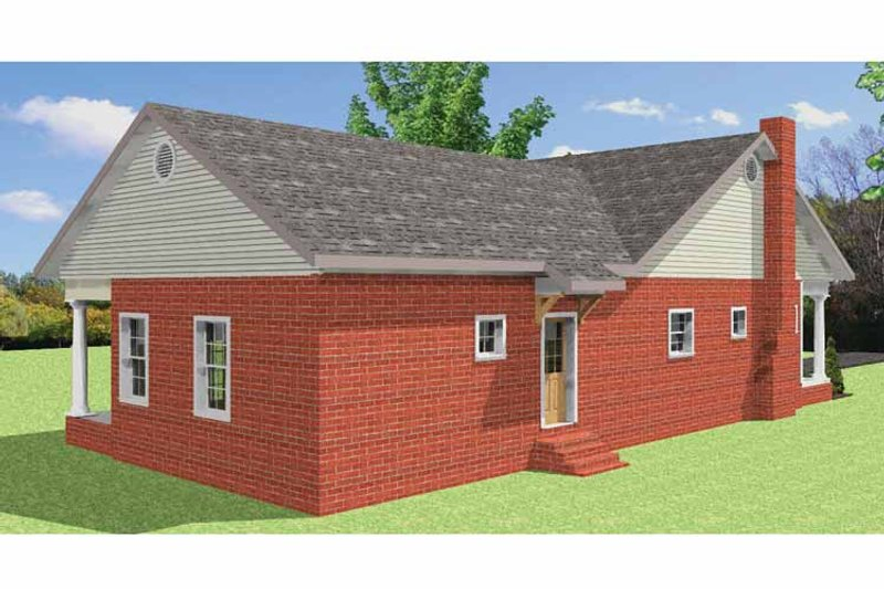 Country Exterior - Other Elevation Plan #44-220 - Houseplans.com