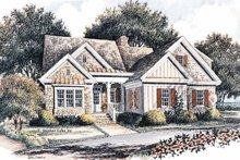 Craftsman Exterior - Front Elevation Plan #429-366