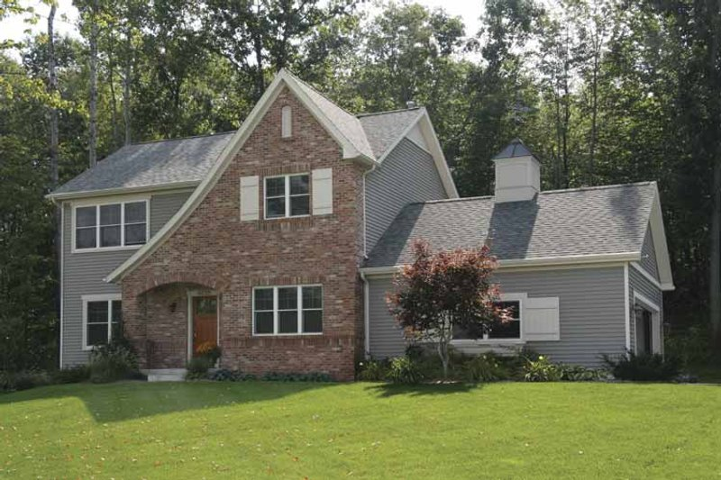 Country Exterior - Front Elevation Plan #928-119 - Houseplans.com