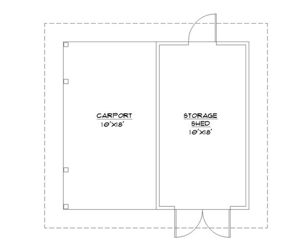 Traditional Floor Plan - Main Floor Plan #922-8